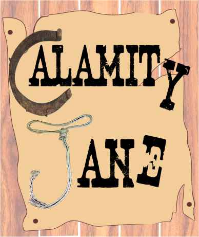 Logo for Broxbourne Theatre Company Calamity Jane at Broxbourne Civic Theatre Hall in Hoddesdon Herts May 2007