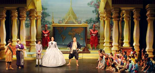 Broxbourne The King and I -- The Schoolroom (show picture)
