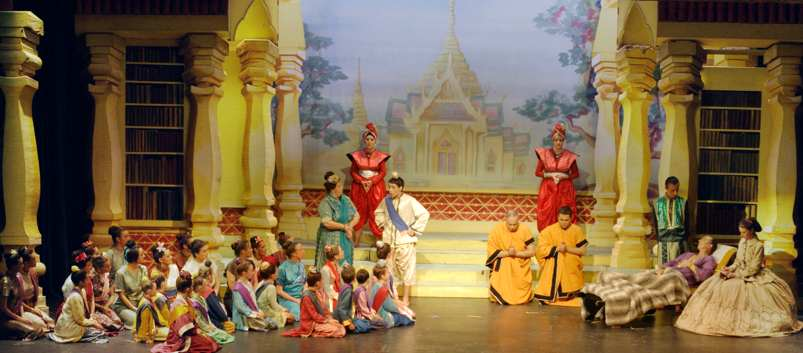 Broxbourne The King and I -- Death of King (show picture)
