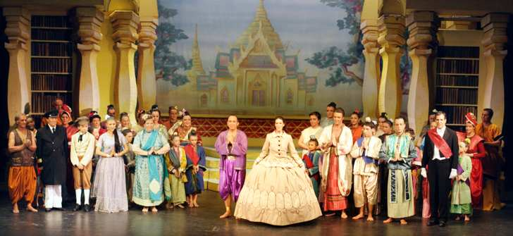 Broxbourne The King and I -- Curtain Call (show picture)