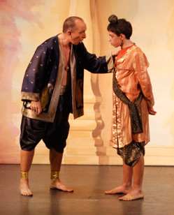 Broxbourne The King and I -- King and Chulalongkorn (show picture)