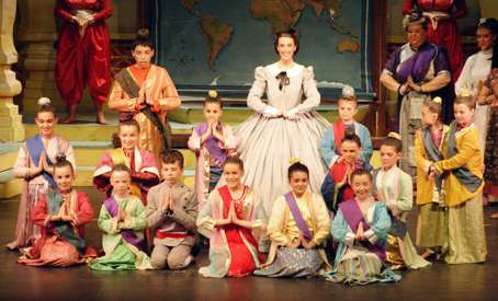 Broxbourne The King and I -- Schoolroom with kids (show picture)