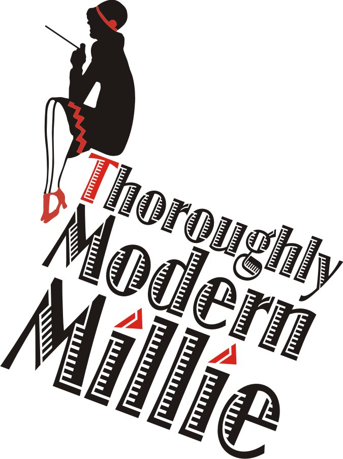 Logo of Thoroughly Modern Millie Broxbourne