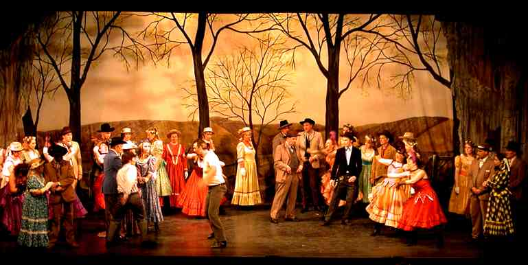 Photo from Broxbourne Theatre Company Oklahoma